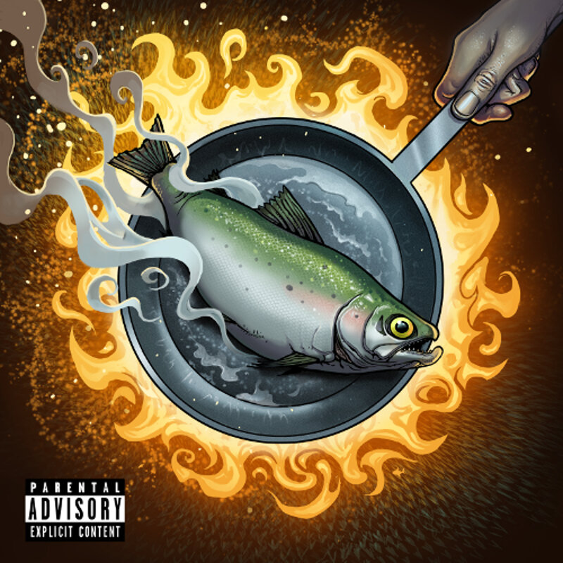 """""""Friday Fish"""" now available on Spotify, Apple Music, TIDAL and more."""