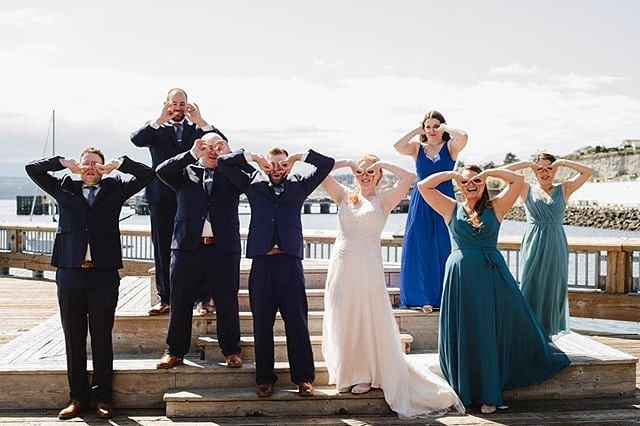 Belly laugh with your favorite people, dance till your feet hurt, stay up until the sun rises. Savor moments like this one captured by @jenleelight. These are the memories you'll remember from your big day ❤ Serving up extraordinary celebrations of love on the Olympic Peninsula 💕 // 📸 @jenleelight #weddingsacrossthesound #jenleelight #weddingphotographer #porttownsend #olympicpeninsulawedding