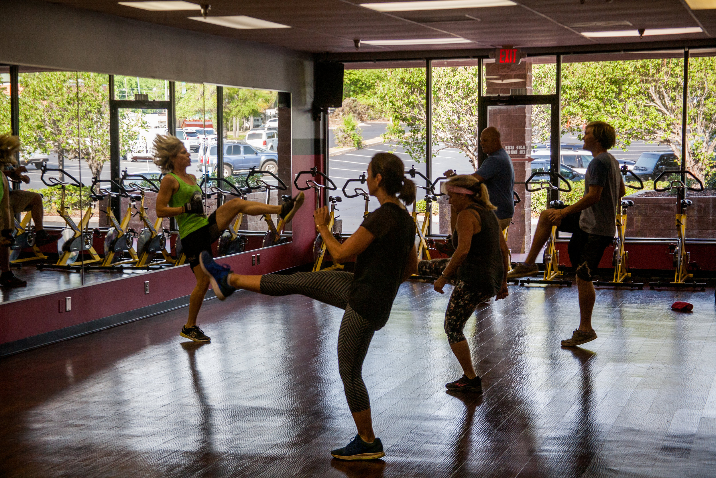 WE HAVE SOMETHING FOR EVERYONE IN OUR   high-intensity classes    see classes