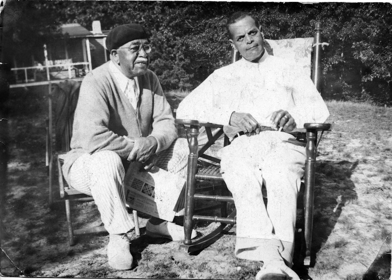 Burleigh & friend ( https://vineyardgazette.com/news/1949/09/16/h-t-burleigh-was-one-musics-great-figures )