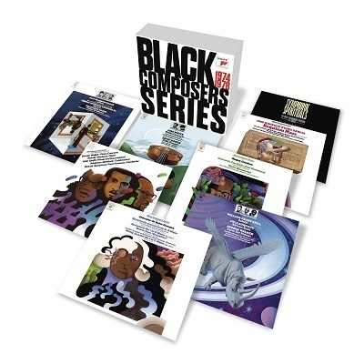 Sony's reissue of  Black Composers: Series , originally recorded by CBS Masterworks in the 1970s