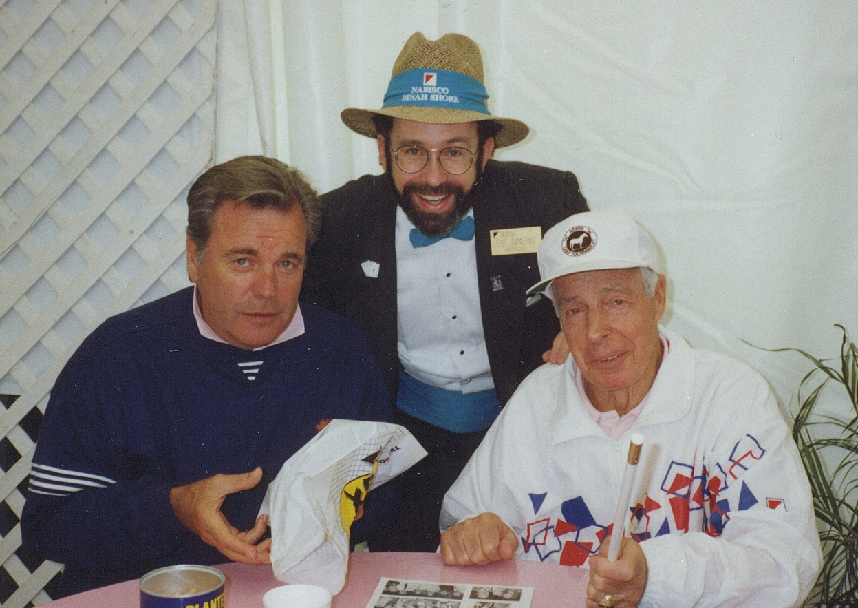 Hondo celebrity LPGA Robert Wagner & Joe DiMaggio.jpg