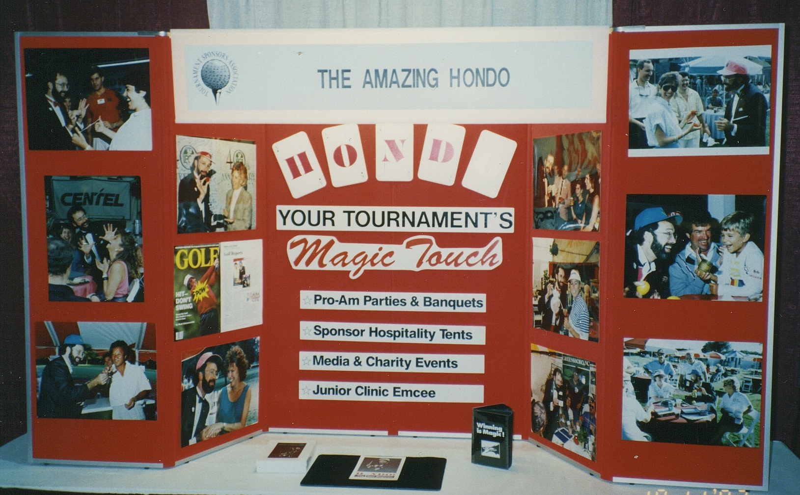 Hondo PR Golf PGA trade show display.jpg