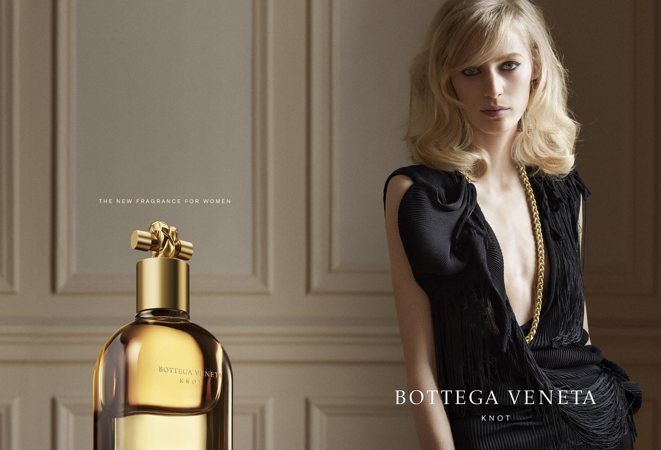 KNOT by BOTTEGA VENETA print campaign