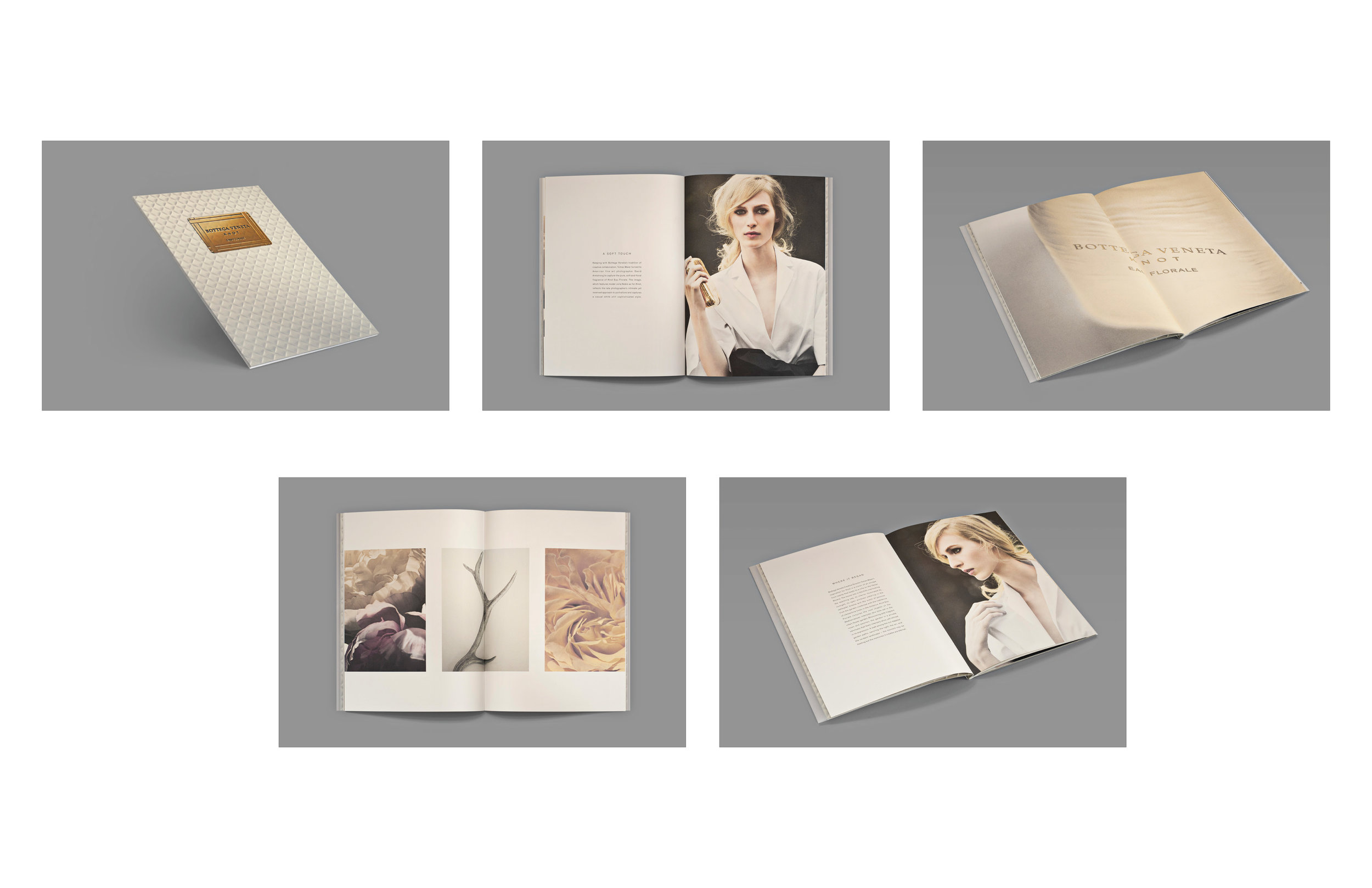 KNOT Eau Florale Press Kit Book