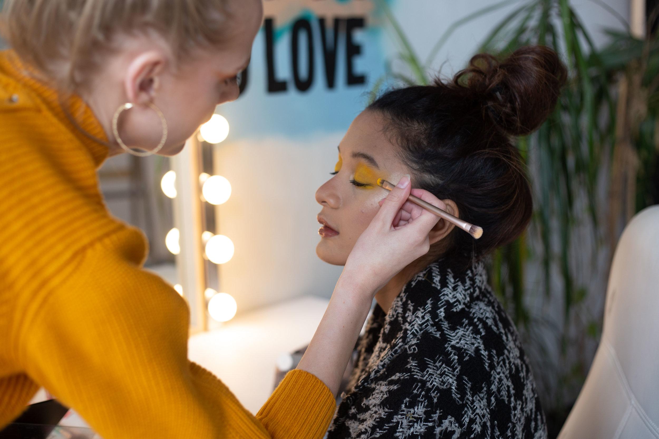 BTS // Make-up