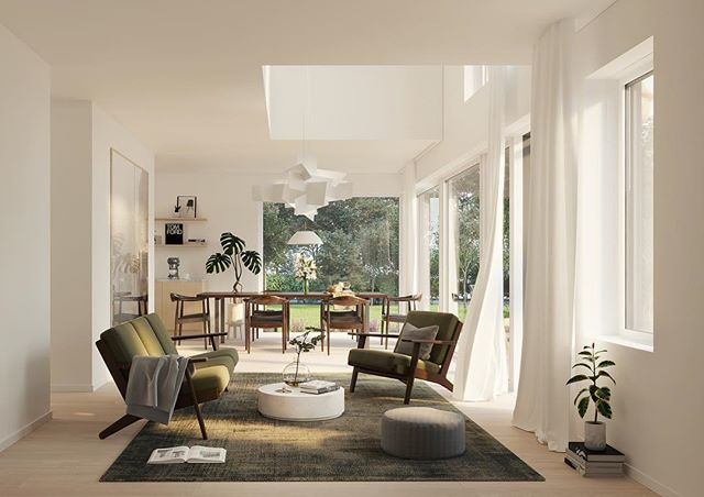 Working with a developer and to create these Interior CGIs for residential apartments in Sweden. See more on website in bio! . . . . . .  #coronarender #cgi #london #rendering #archviz #productrendering #fun #architecture #interior #interiordesign #interiordecor #highendresidential #3dmax #styling #furniture #swedishinterior #swedishapartment