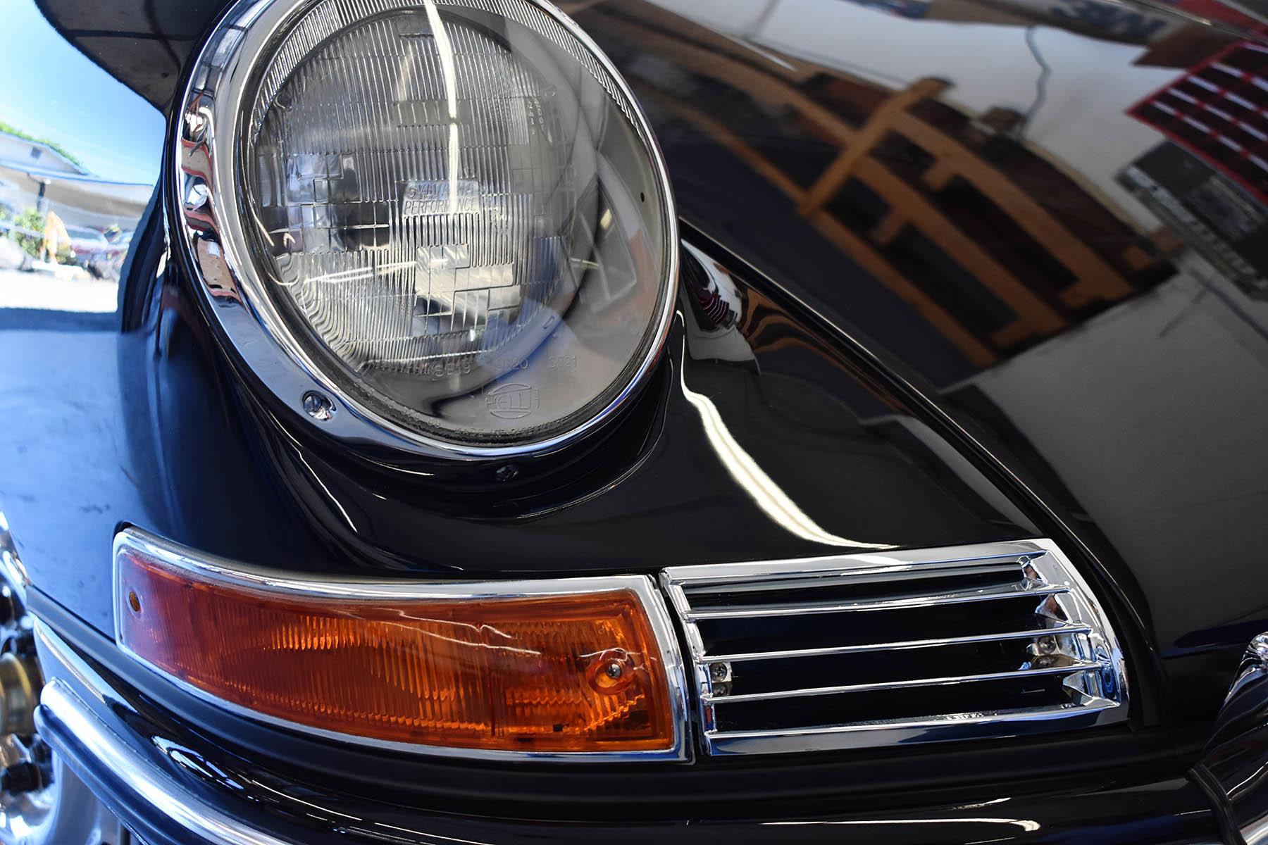 Porsche electrical work at Vintage Sportscar Restorations in Phoenix, Oregon.
