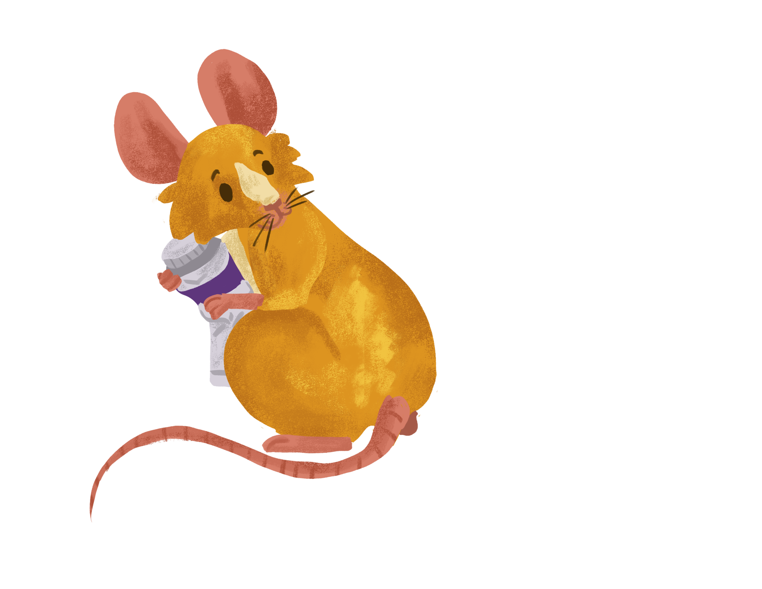 About Me - I have kinda an obsession with my mouse Gus Gus