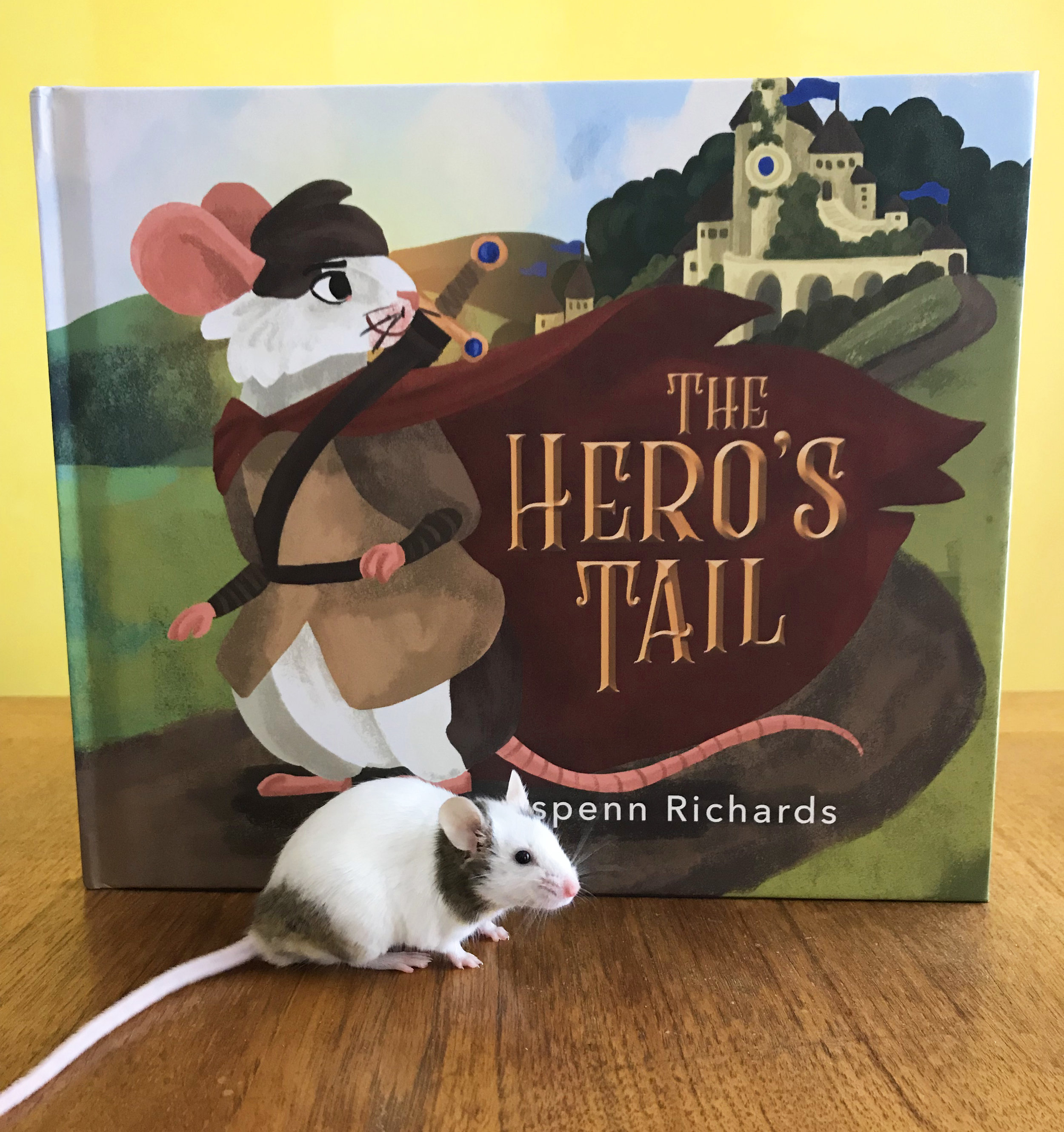 The hero's Tail - Come follow a mouse named Jack as he goes through each step of the Hero's Journey to save his kingdom from evil
