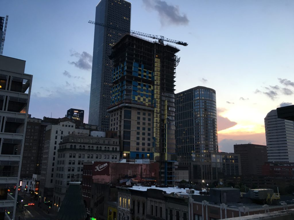 Downtown Houston Skyline Chelsea Coffey The Coffey Break