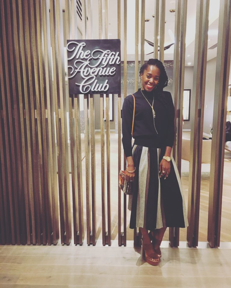 New SAKS Grand Opening Look of the Day