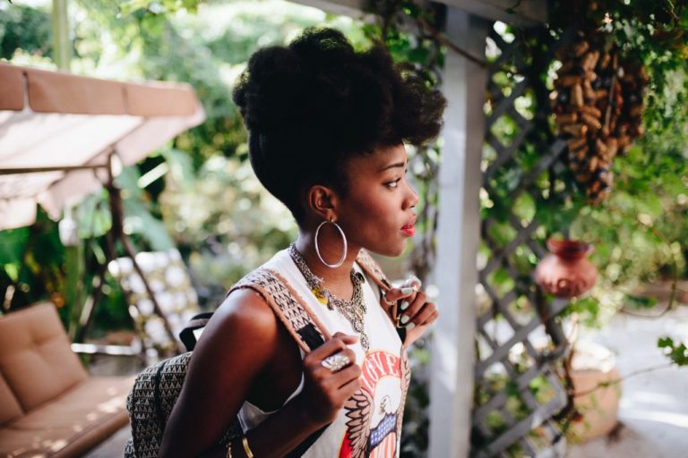 Awesome Natural Hair photo shoot with Fred Agho