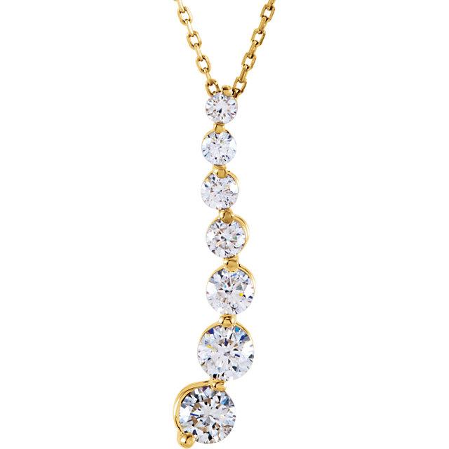 Diamond Journey Pendant
