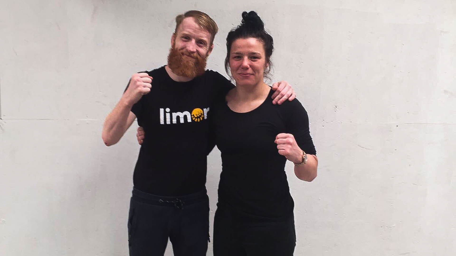 Paddy Holohan with 'No shame' guest Sinead Kavanagh