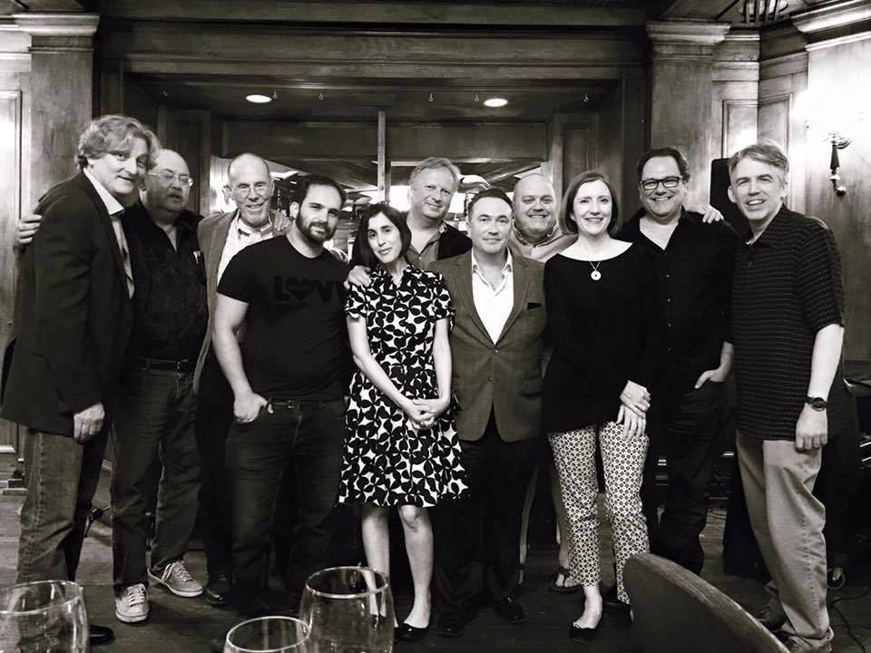 From July 13's Noir At The Bar Seattle. That's me, dead center.