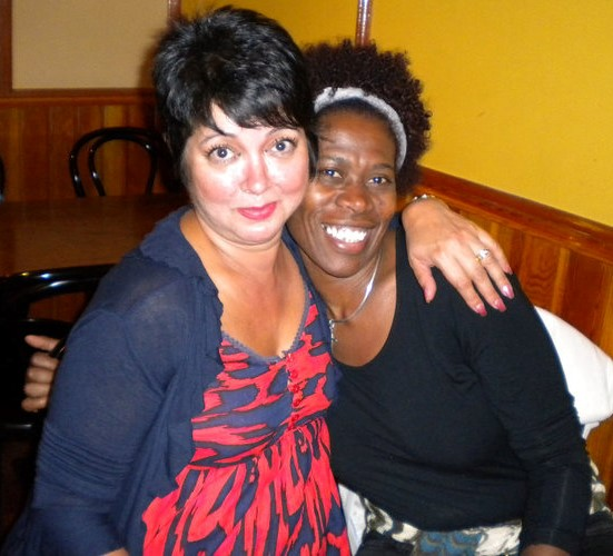 Me n Farah many years ago (well not too many)