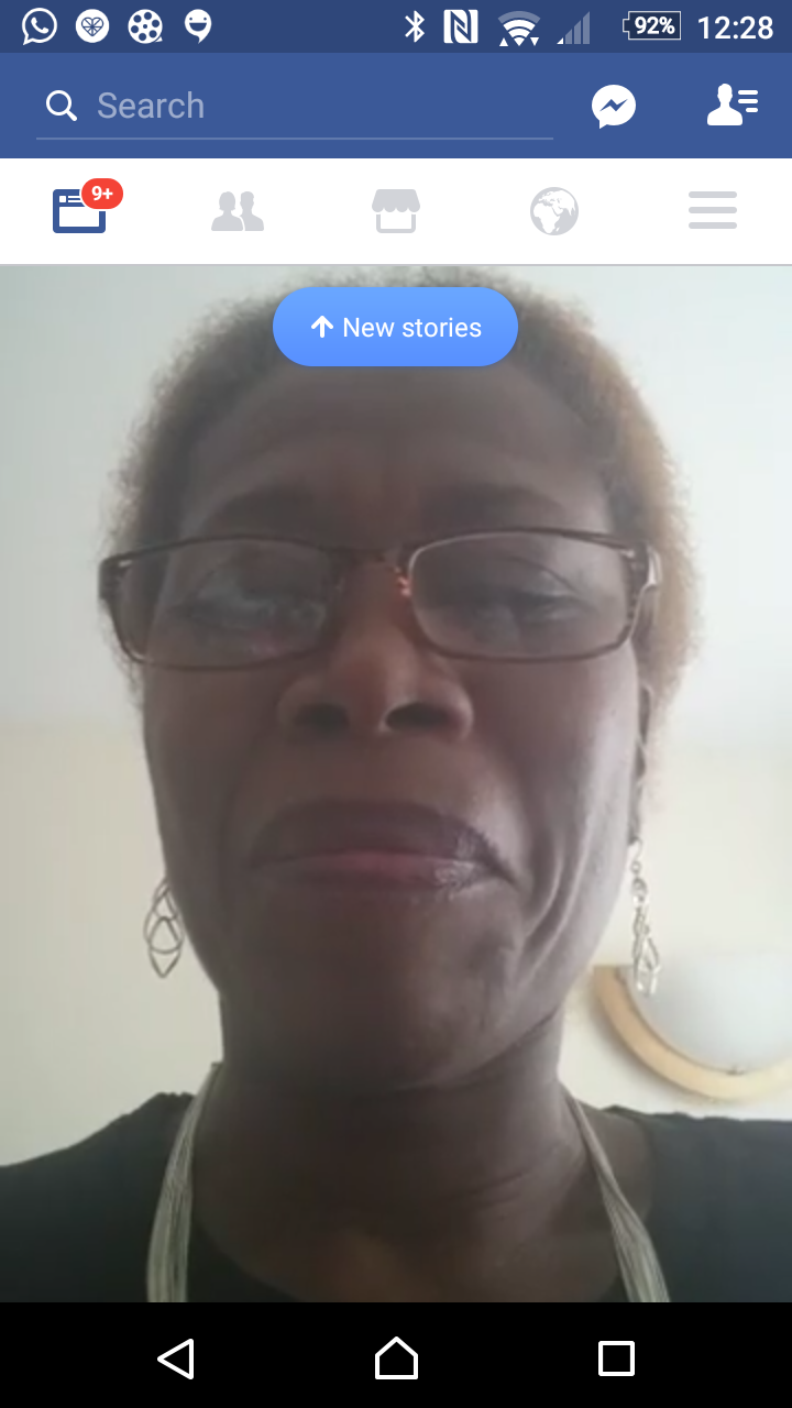 My first Facebook Live Broadcast: January 2017