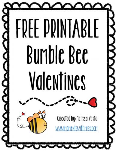 Printable Valentines - Bees.png