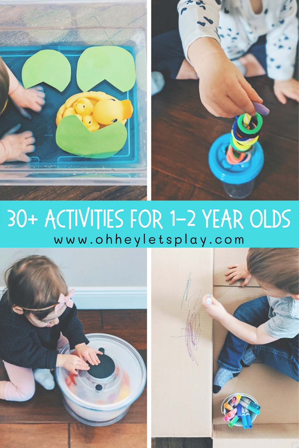 Activities For 1 2 Year Old Toddlers