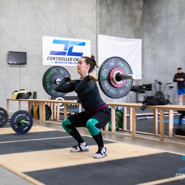 @peanutbutterjess working hard to compete in the up coming @crossfitwestgate Western Warriors. . even though she may not always have the funnest of exercises, she does the work and it really shows. . #controlledchaos #chaosathlete #teamchaos #comp #olympicweightlifting #weightlifting #training #pr #pb #lifting #heavy #snatch #clean #jerk #squat #squats #strong #strength #fun #team #gym #coburg #crossfit #fitness #melbourne #gym #train #power #competition