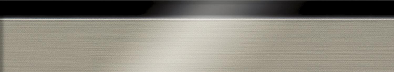 Black and Brushed Aluminum Edgeband