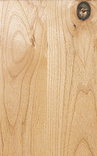 Knotty AlDer Natural Finish