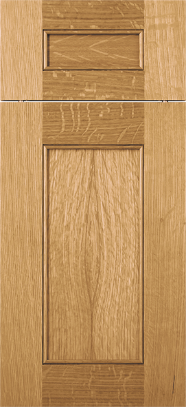 Meili Qtr. Sawn White Oak Natural Finish