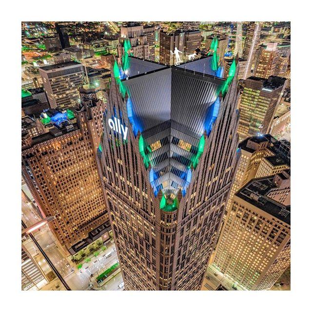 One Detroit Center • Architect: Philip Johnson + John Burgee • 📷: @neff.adam