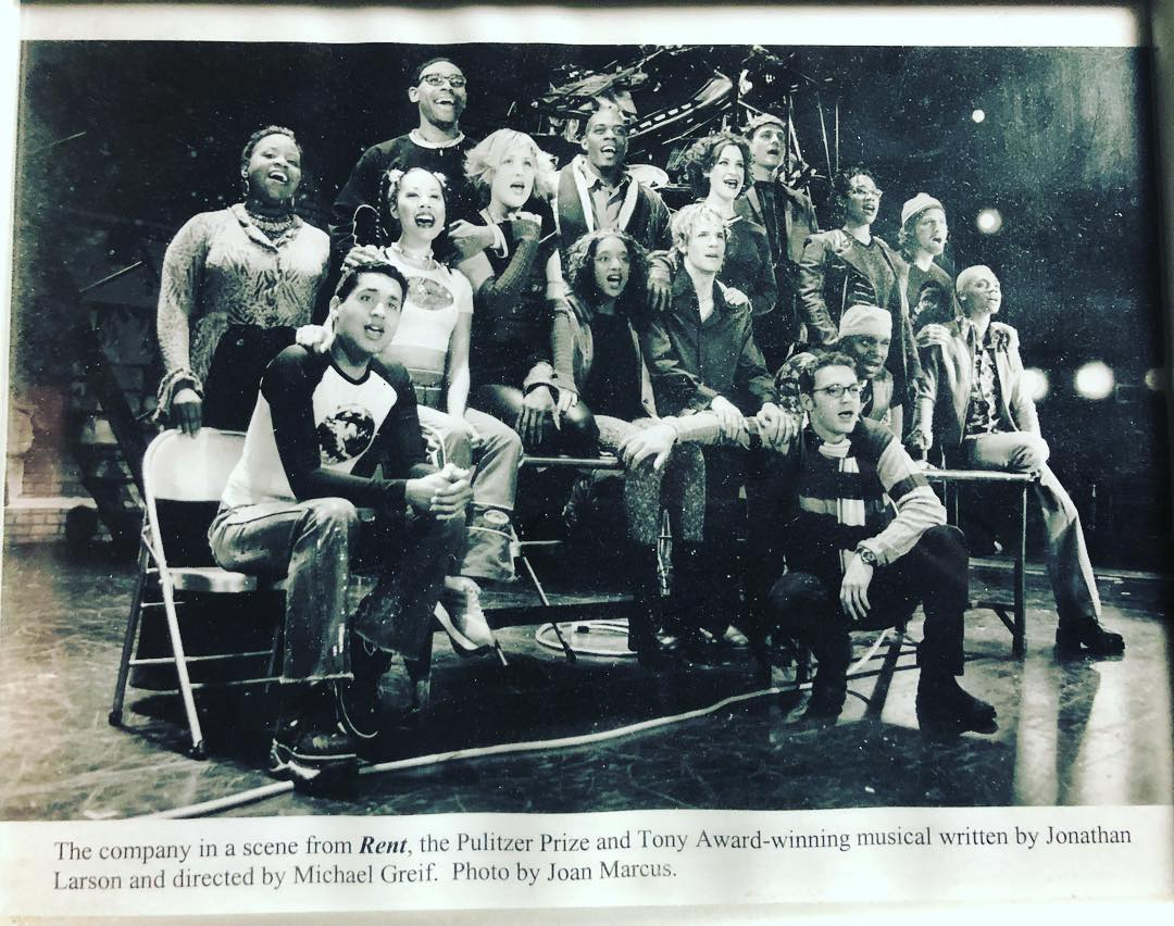The cast of RENT - The Musical. What an incredible honor and privilege. 🙏🏻