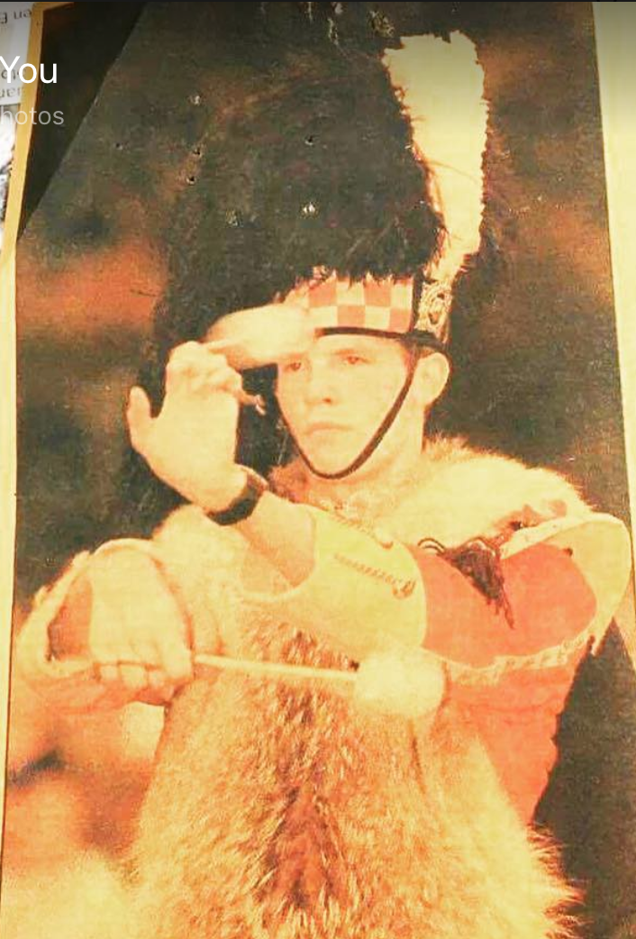 My first International touring gig was as a drummer in the Canadian Armed Forces with The Argyll and Sutherland Highlanders of Canada (Princess Louise's Regiment) Age 17