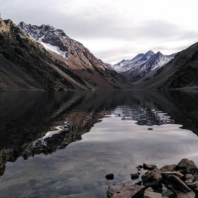 The view upon arrival, Laguna Del Inca, Portillo, Chile