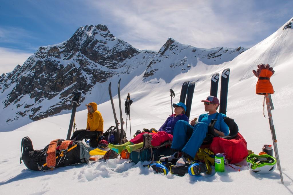 A hard days ski deserves are hard afternoons rest.