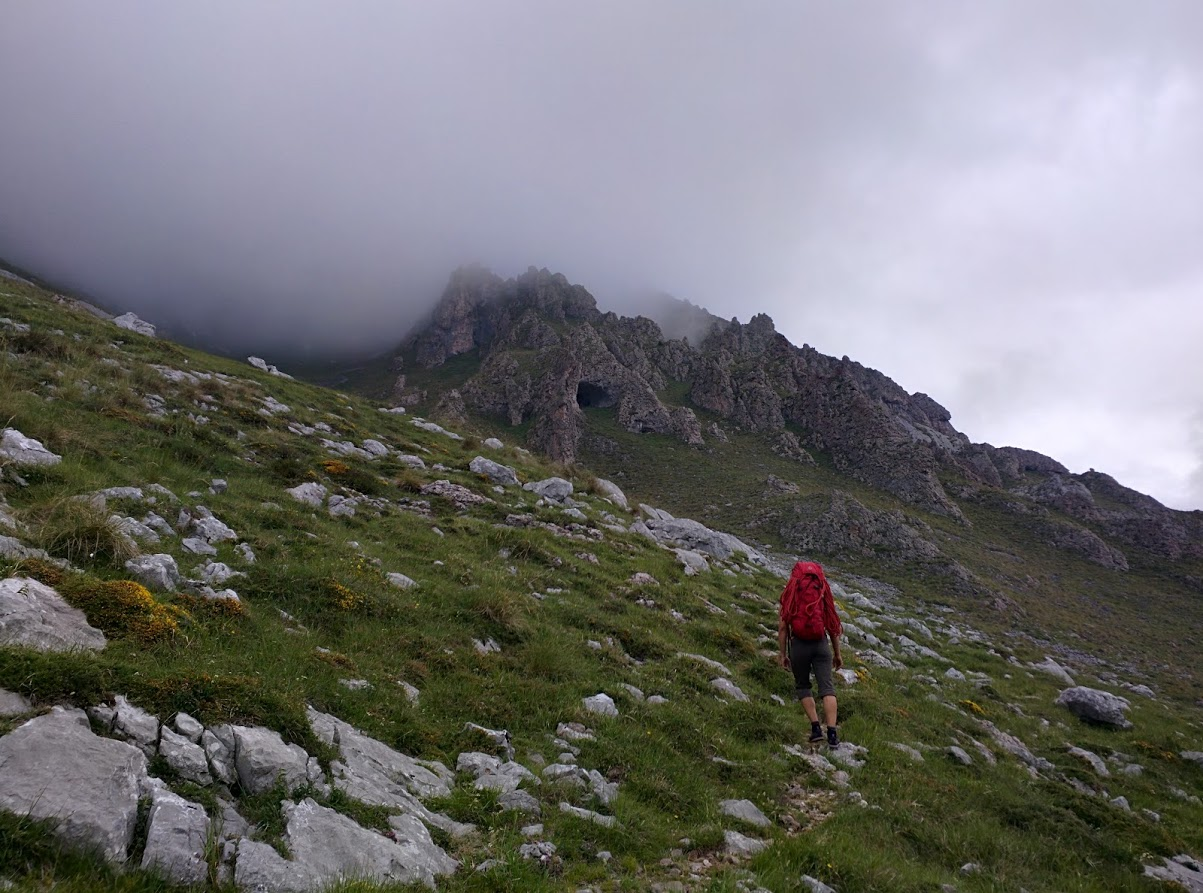 Ideal weather for two people who have never climbed together to do a long, multi-pitch route.