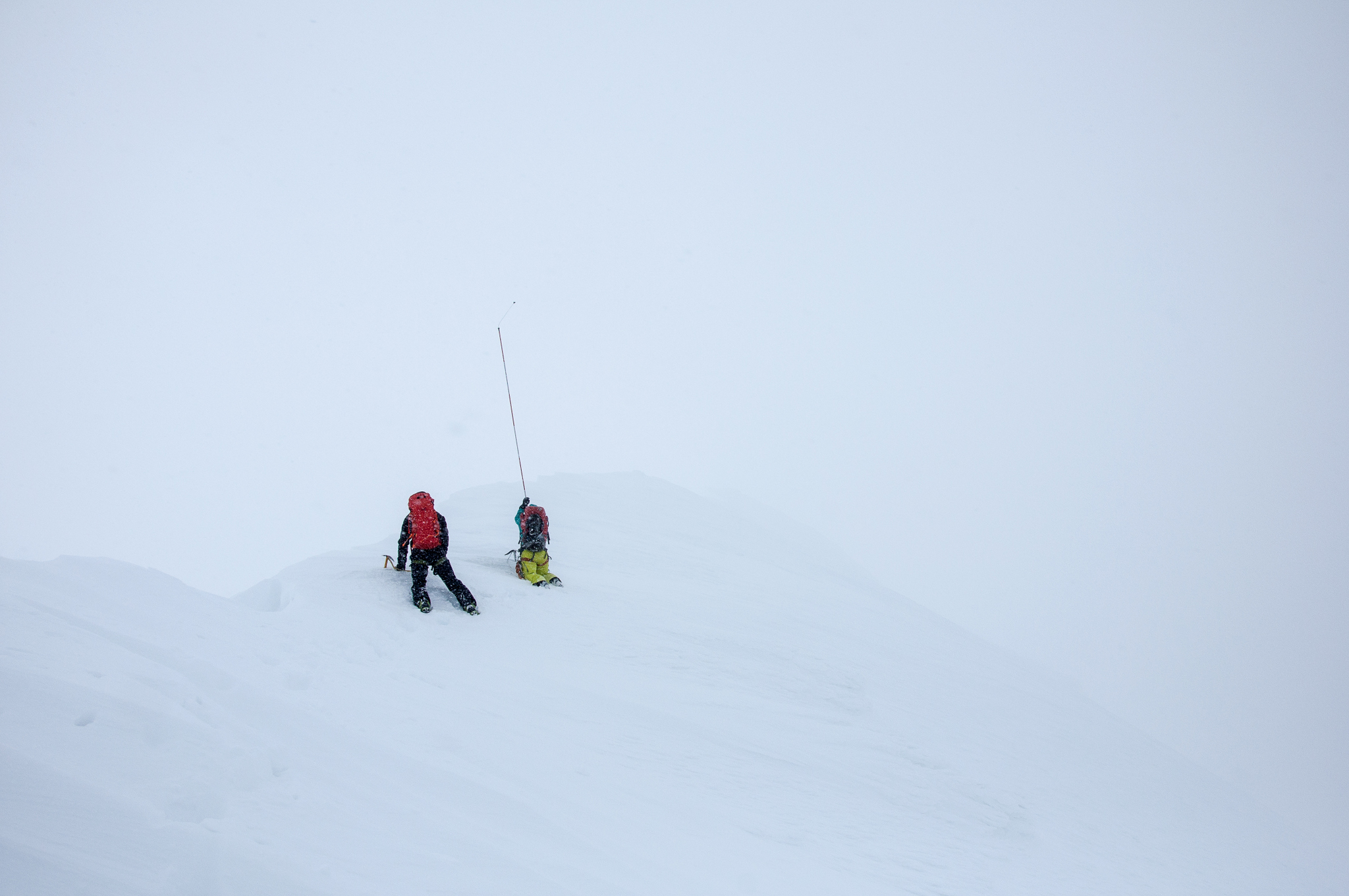 Figure 2: Charlie Plays another fun round of 'ridge or cornice'.