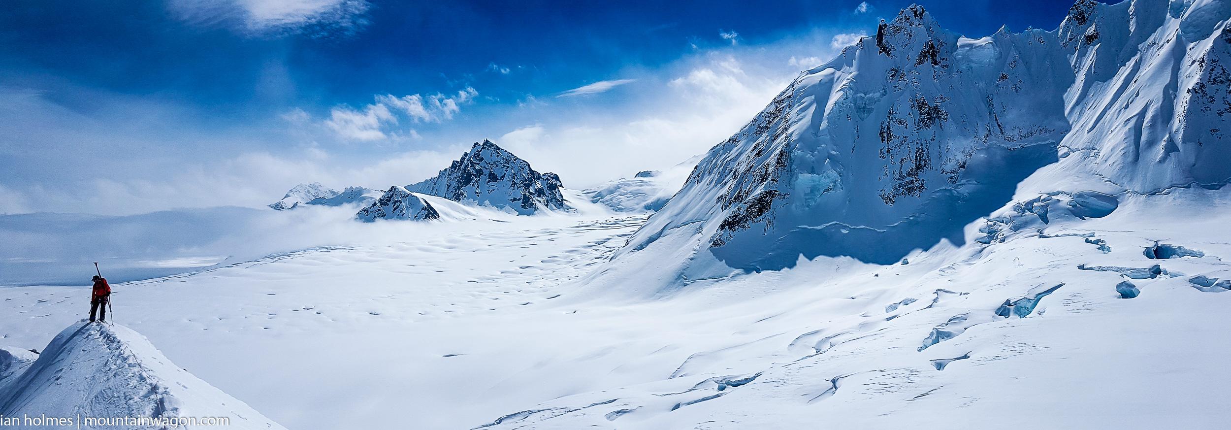 kluane national park skiing mountaineering