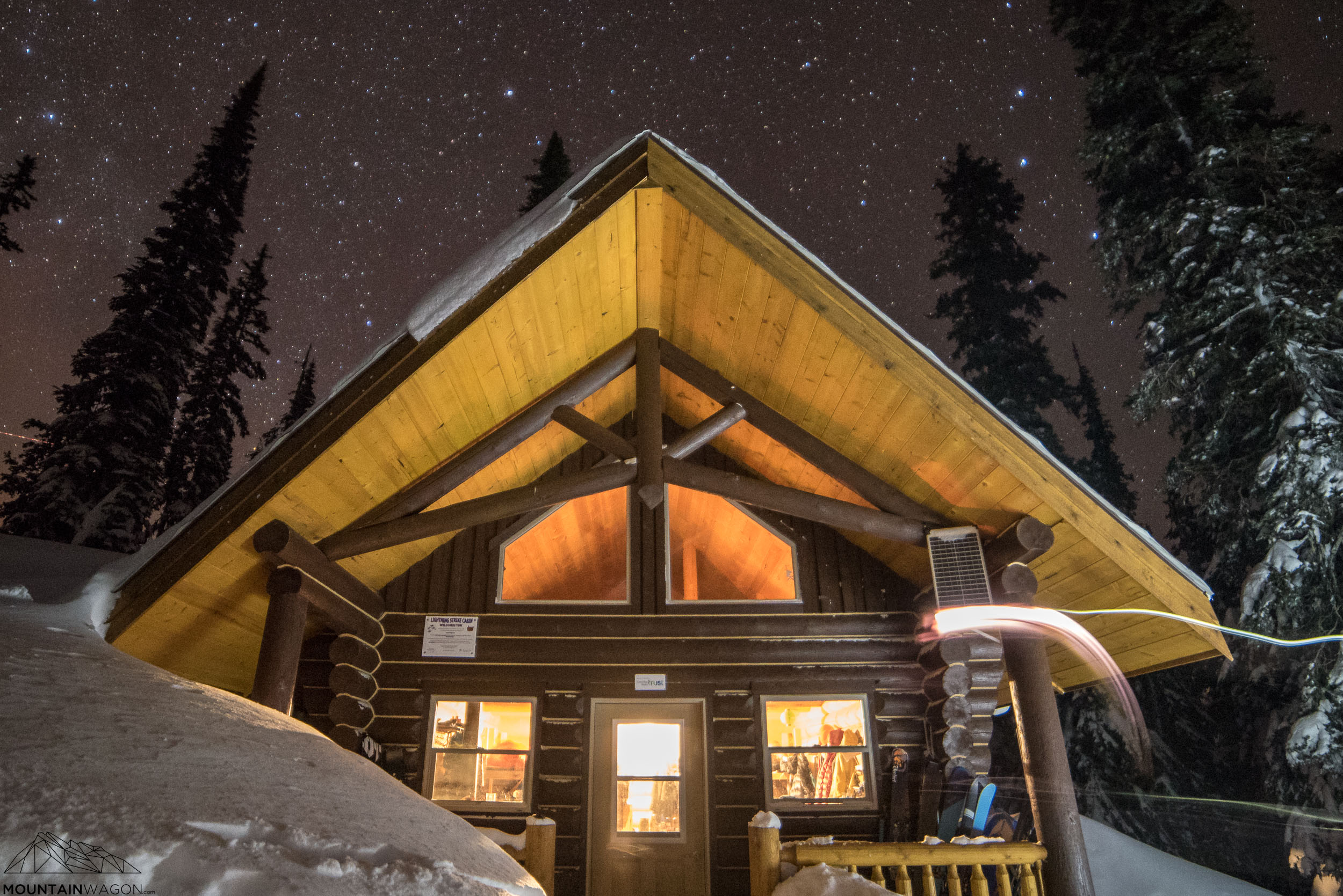 The Lightning Strike Cabin is new, beautiful, cheap,and a great place to stay.