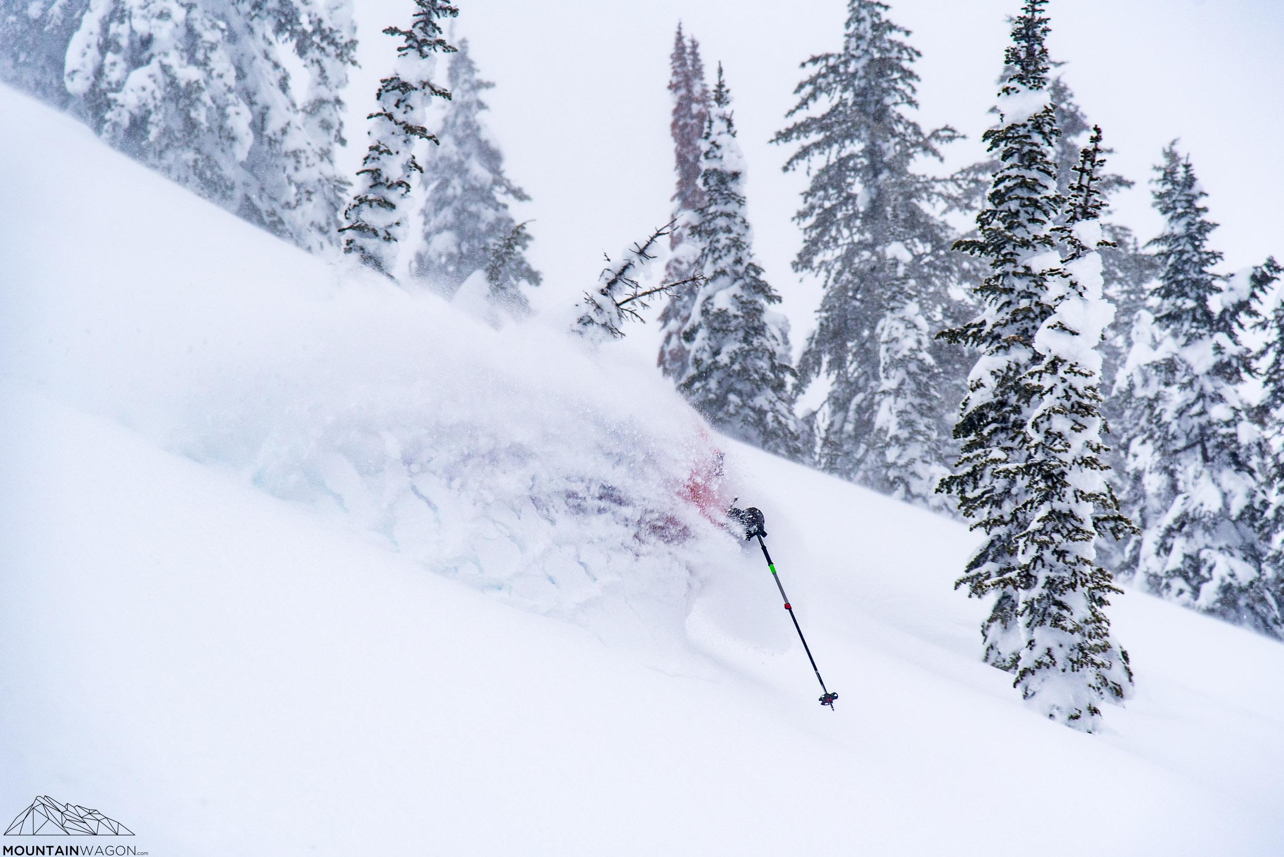 Kootenay pass powder skiing