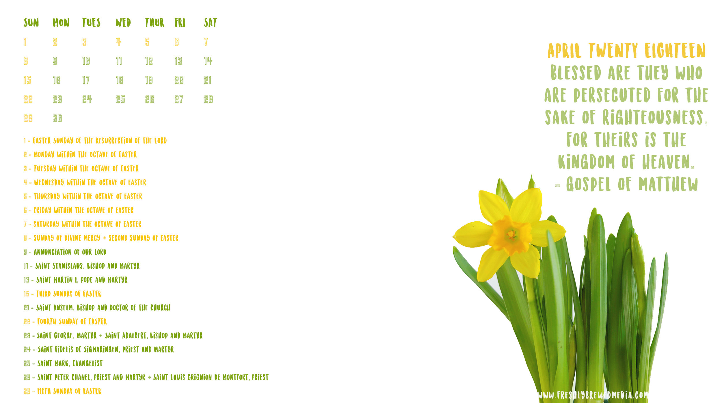 April 2018 Desktop Calendar - More Space copy.jpg