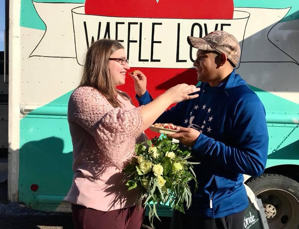 Waffle Love wedding cake.jpg