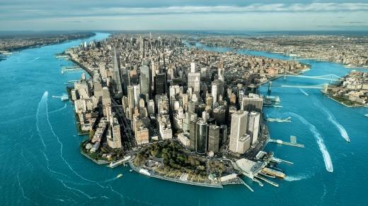 Magnetic: Manhattan island in New York City.  Photo: Predrag Vuckovic