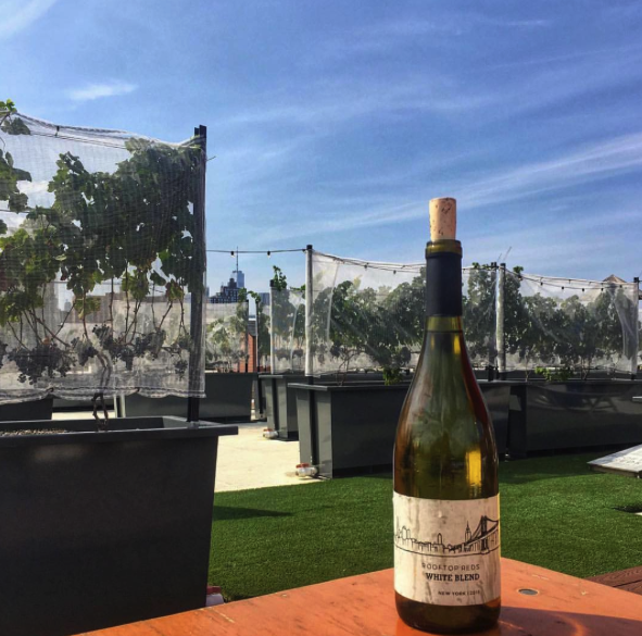Rooftop Reds (Brooklyn Navy Yard) - Literally making and serving wine on a rooftop in Brooklyn! Open 7 days a week. They also host lots of fabulous events.