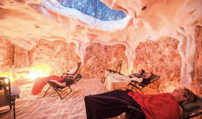 Gift a session in a healing salt cave. $45 - Halotherapy, aka salt therapy, is an alternative treatment for a wide variety of ailments and conditions, such as asthma, allergies, inflammation, and even the common cold. BOOK NOW.