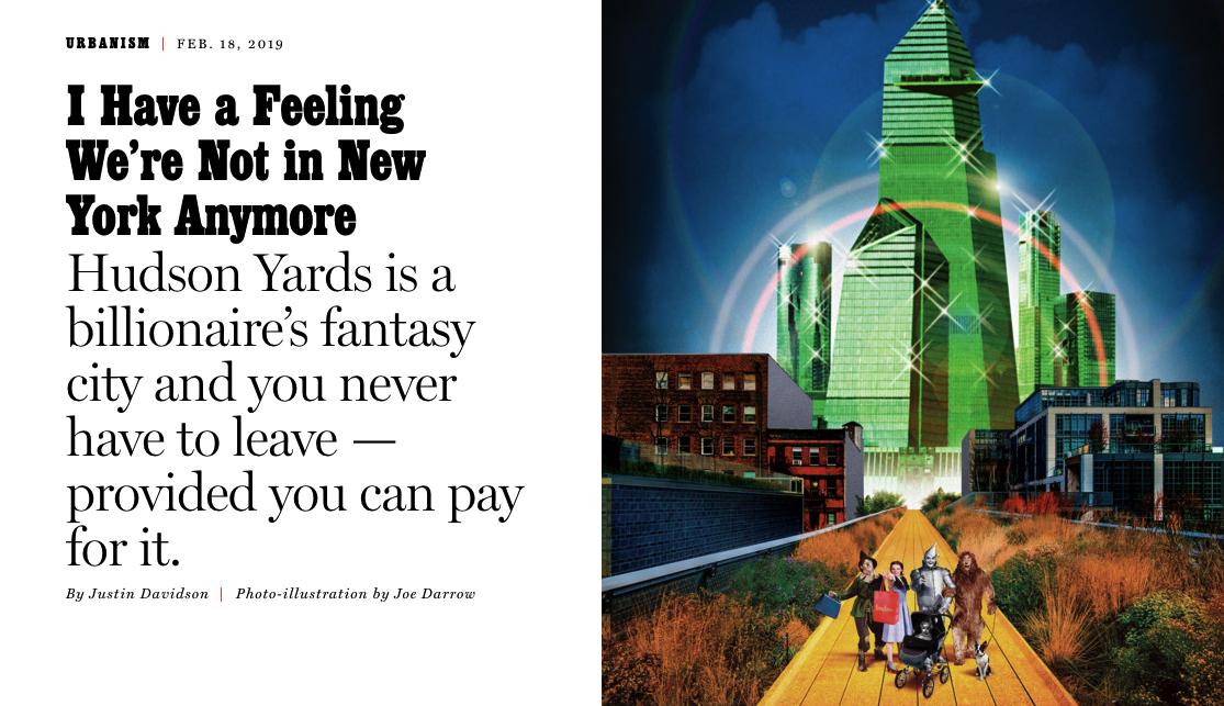 New York Magazine Article - Feb 18, 2019