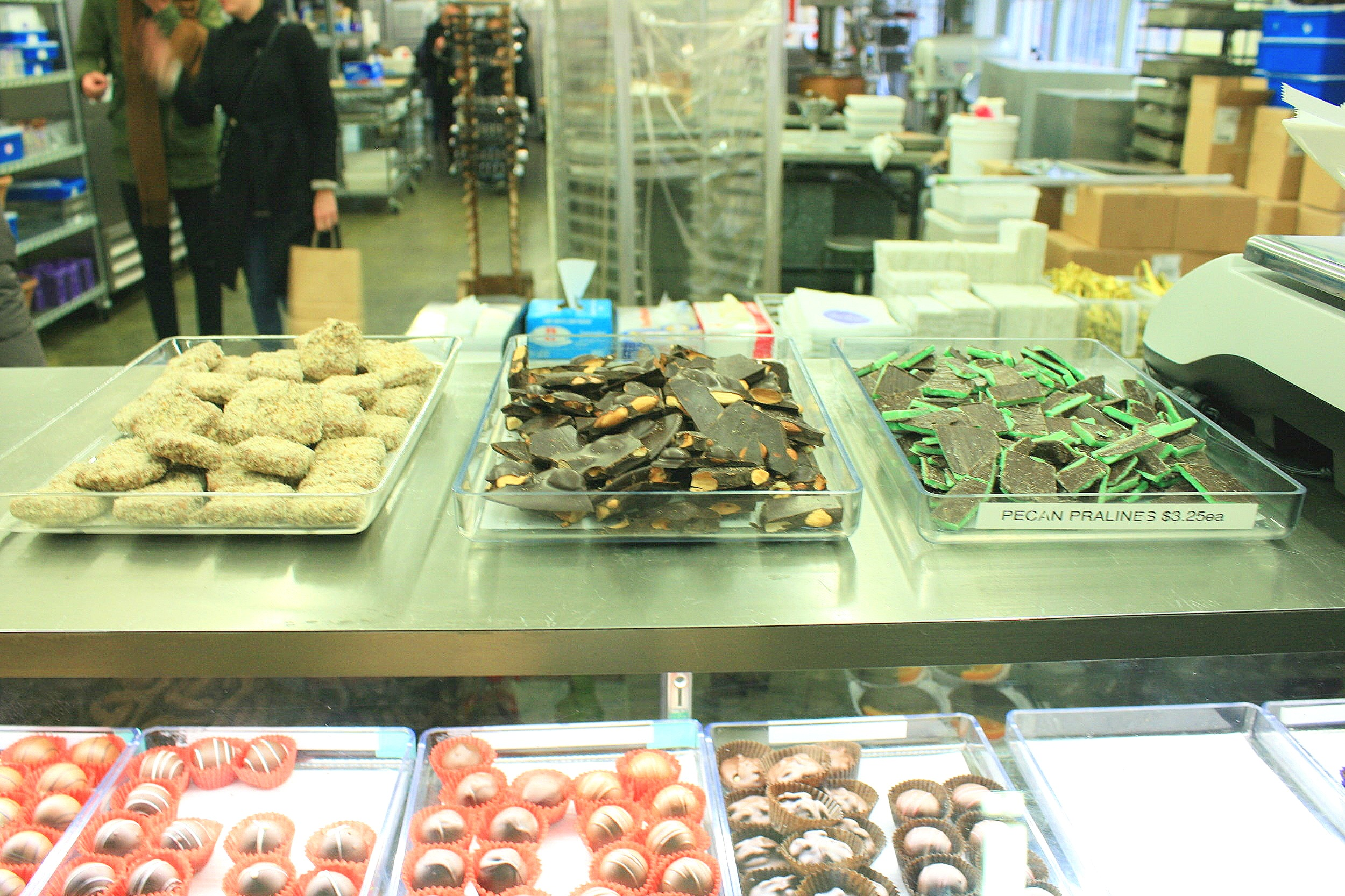 Li-Lac Chocolate Tour - With so many amazing samples!