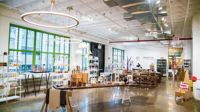 Shop Local and Made in Brooklyn at Wanted Design - They sell goods made by many of the makers at Industry City!