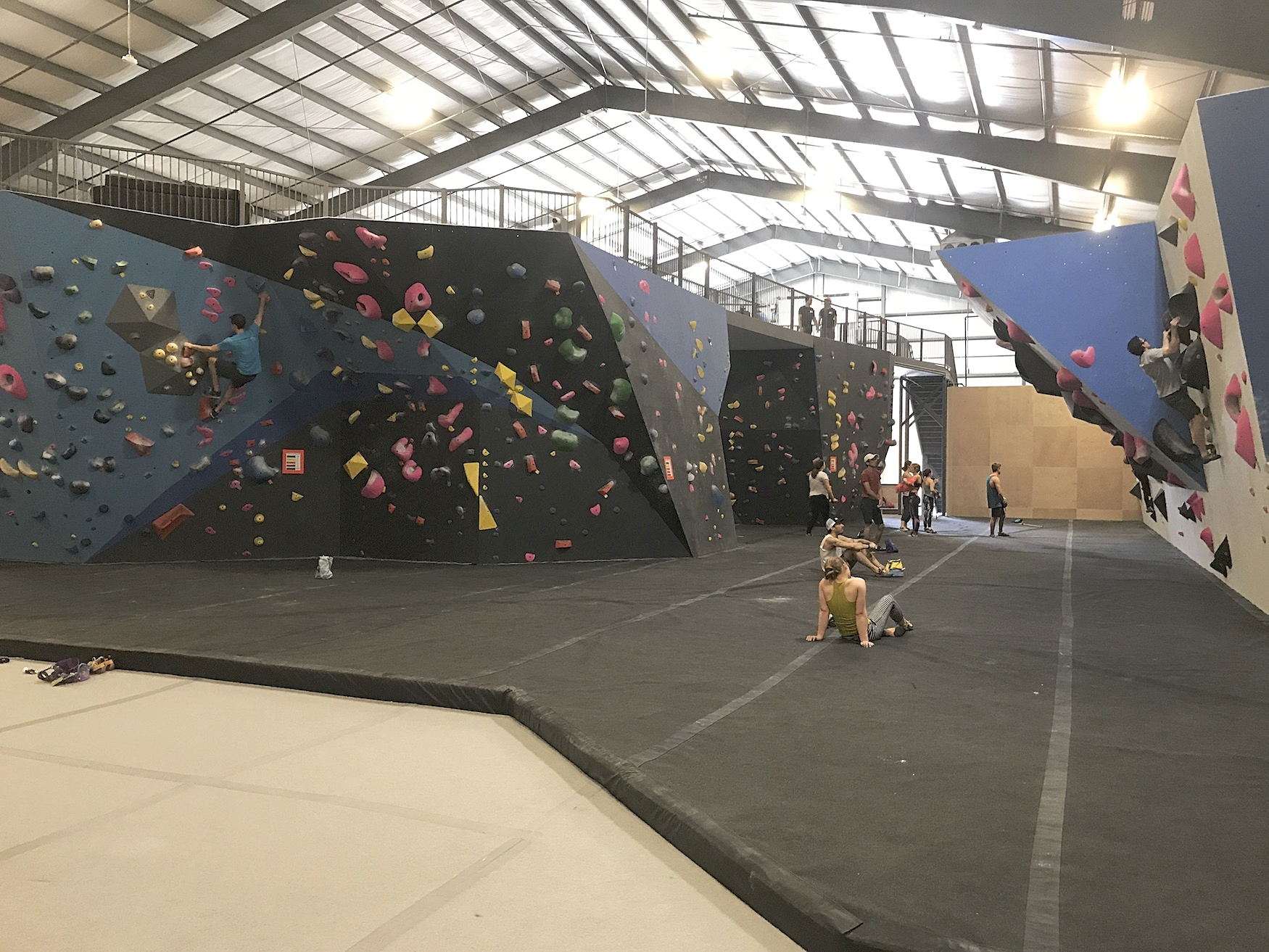 5,000+ sq. ft. of bouldering