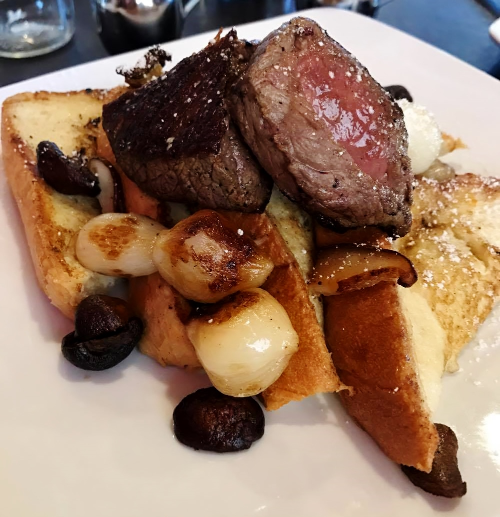 Steak & French Toast.. Move over chicken and waffles!