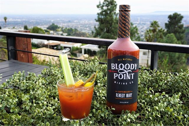 "GIVEAWAY! 🌞🌞 Summertime Sundays mean @bloodypointmixingco Bloodies! 🍅🍅I am loving all of Bloody Point Mixing Co.'s repertoire of mixes- especially their REMEDY MARY which contains caffeine + B12. 🤙🤙Everyone needs some pep in their step on those weekend mornings, so this is the PERFECT mix to add that pep.  I am partnering with @bloodypointmixingco to giveaway a PRIZE PACK of delish Bloody Mary products so you can try this mix for yourself! 🌶🌶 Giveaway guidelines below. 1️⃣ ""Like"" this post 2️⃣ Follow @bloodypointmixingco + @bloodymarytour  3️⃣ Tag a friend! (more tags = more entries. 3 entries max) *****Winner will be chosen next Sunday, August 4th. Must be 21+ to enter and live in the US. This giveaway is not affiliated with Instagram."