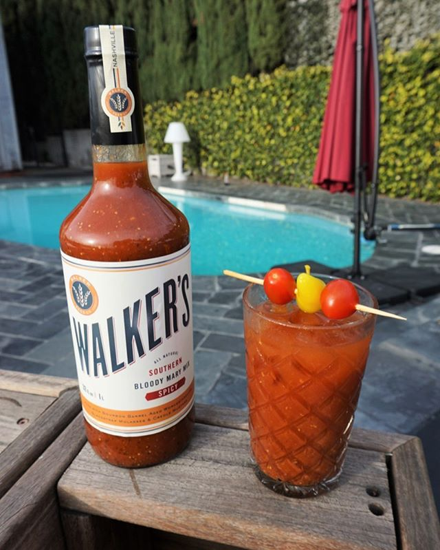 "LABOR DAY GIVEAWAY! 🔥❤️What better way to celebrate than with @walkerfeedco's Southern Bloody Mary Mix straight outta Nashville. The key ingredients in this mix?! 🌶🌶 We're talkin' bourbon barrel-aged Worcestershire sauce from Kentucky bourbon barrels, creole mustard, and blackstrap molasses. I am partnering with Walker Feed Co. to giveaway a prize pack of their delish products. Giveaway guidelines below. #sponsored •••••••••••••••••••••••••••••••••••••• 1️⃣ ""Like"" this post 2️⃣ Follow @walkerfeedco + @bloodymarytour  3️⃣ Tag a friend! (more tags = more entries. 3 entries max) Winner will be chosen on Friday night. Must be 21+ to enter and live in the US. This giveaway is not affiliated with Instagram."